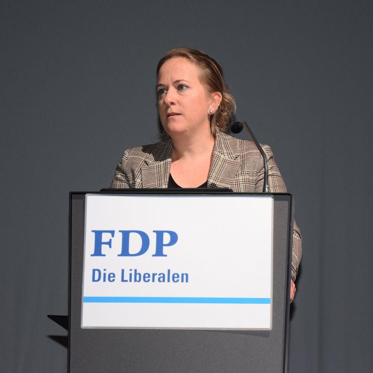 Jacqueline Theiler einstimmig als neue FDP-Präsidentin gewählt